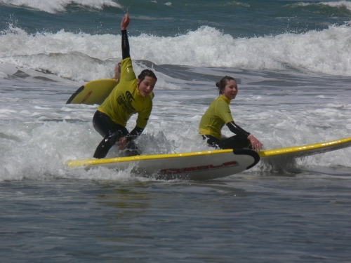 Ant And Dec Surf Sandymouth