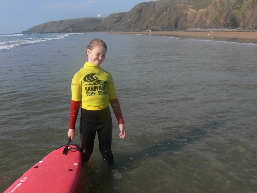 The surf sisters of Sandymouth surf school Bude