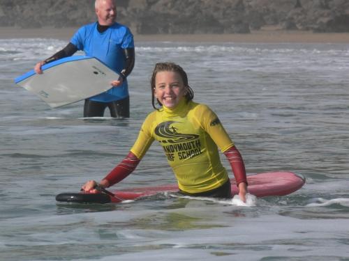 Sandymouth surf school Bude