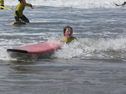 Tom Wipeout Surf School Bude